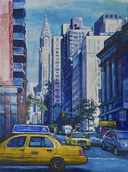 Chrysler Building NY (large print) by Patricia Clements
