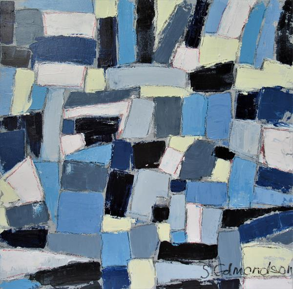 Blue Patches by Sherry Edmondson