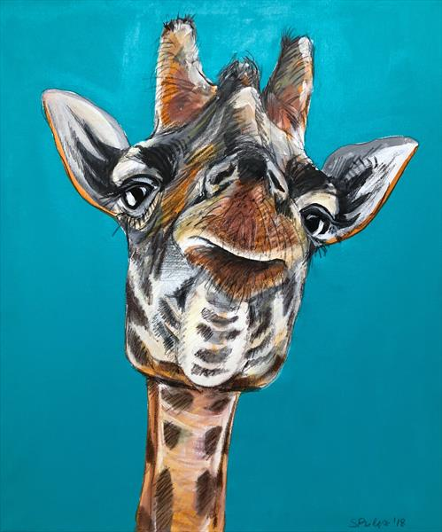 Gerry Giraffe 2 by Serena Phillips