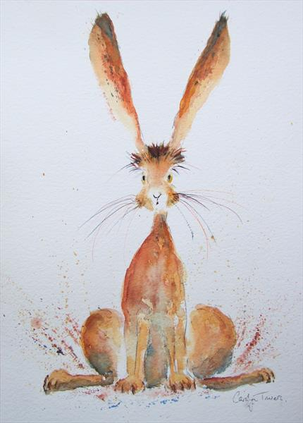 Hare Alert by Carolyn Towers