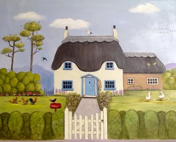ROSE COTTAGE by Pamela Usher