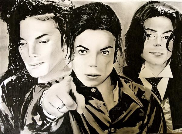 Michael jackson by Hanif Saeed
