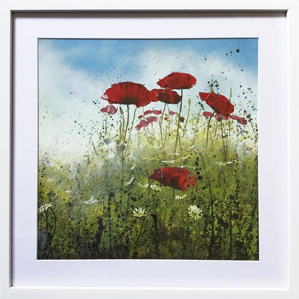 Remembrance Poppies Meadow II by Beatrice   Cawood
