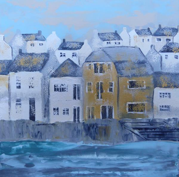 Padstow Harbour by Elaine Allender