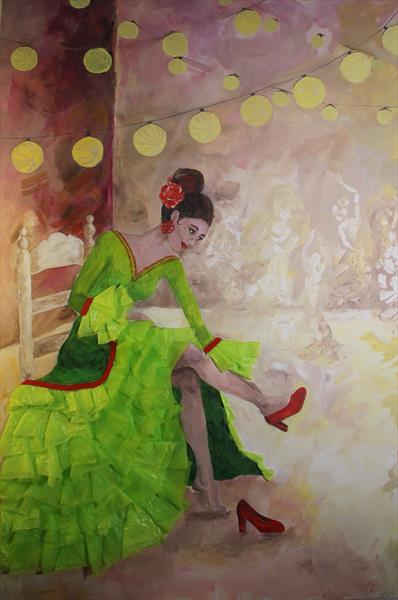 Flamenca from Marbella by Laura Rodriguez