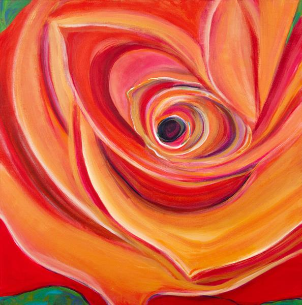 ONE PERFECT ROSE by Diana Aungier - Rose