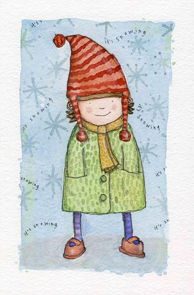 It's Snowing! by Claire Keay