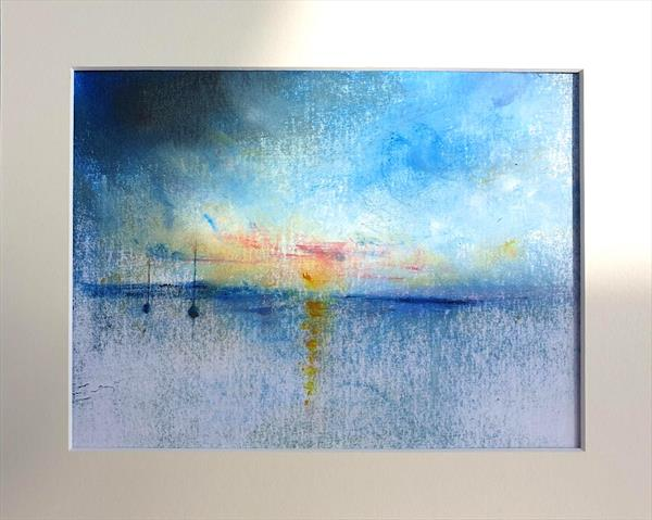Impression of Calm Seas by Teresa Tanner