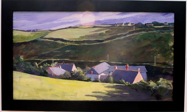 Port Gaverne Roofs by Wendy Clouse   / Balkwill