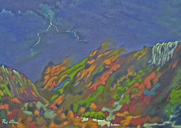 Auvergne Storm by Paul O' Dell