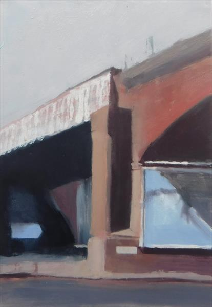 Viaduct at Wharf Street Leeds by John Byrne