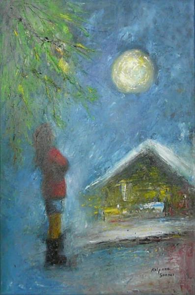 Moonlight Wish II by Kalpana Soanes