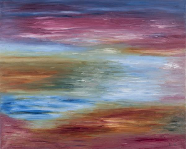 Abstract Seascape by Lana Enderle