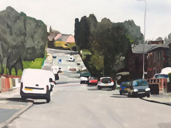 Oaklands Road- Salford  by James  Bloomfield