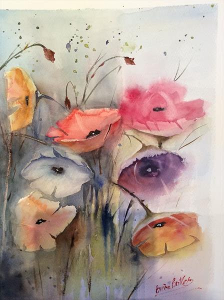 Poppies by Brian Butler
