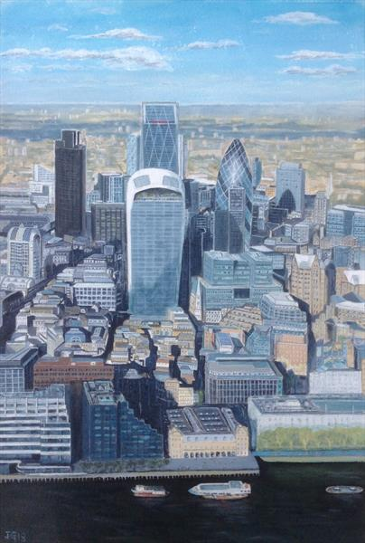 View from The Shard by Jim Griffith