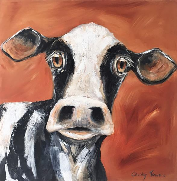 Nosey Cow  by Carolyn Towers
