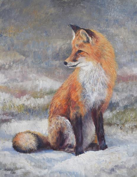 The Winter Fox by Jeremy Mayes