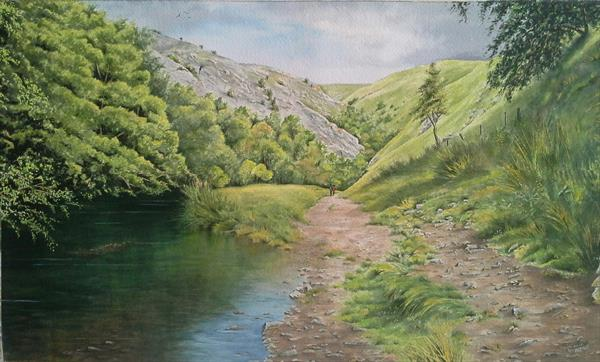 Dovedale by Jacqui  Vinay