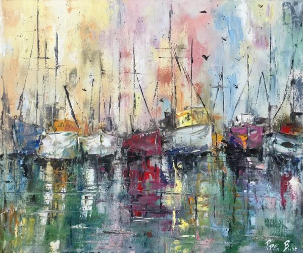 Boats  by Pippa Buist