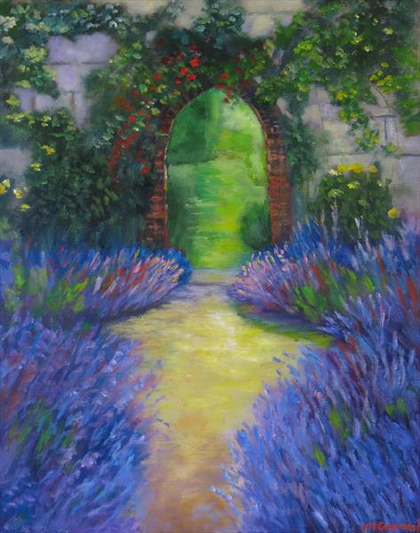 The Lavender Garden by Maureen Greenwood