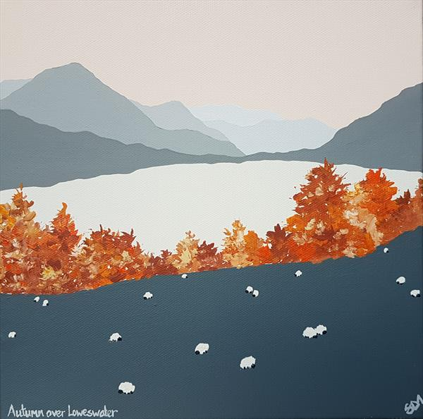 Autumn over Loweswater, The Lake District by Sam Martin