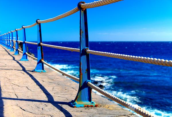 Canarian Promenade by Ron Whitby
