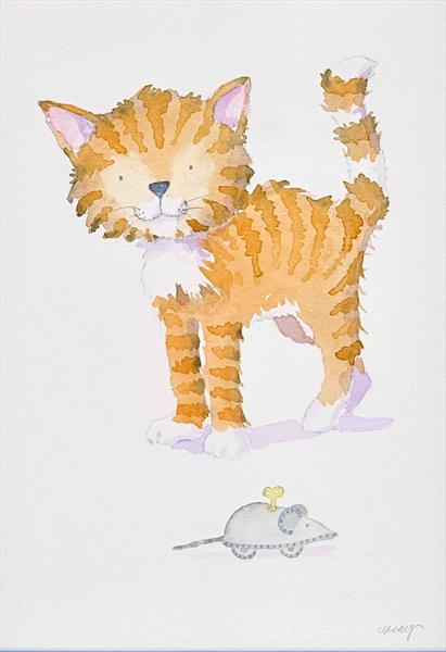 Cat and Mouse by Claire Keay