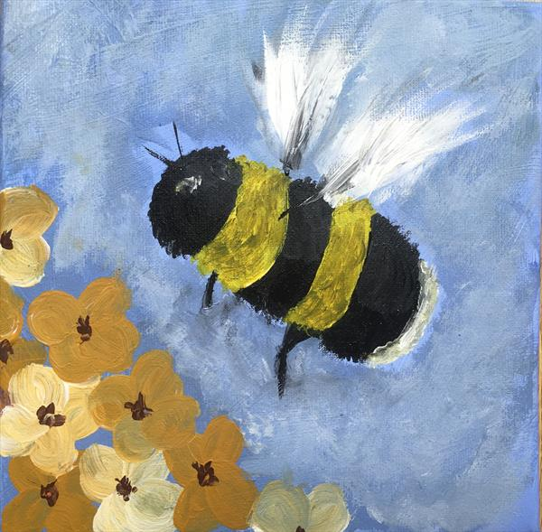 Mr Bumblebee  by Kadie Stebbing