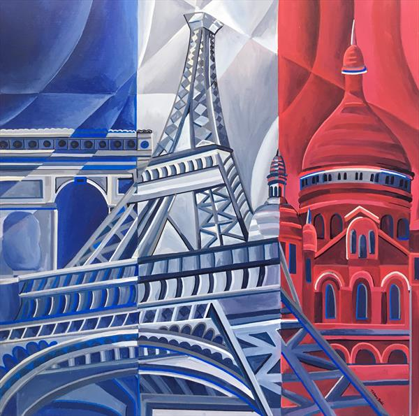 Parisian Icons 1 by Tiffany Budd