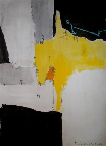 Yellow No 203 by dimitris pavlopoulos