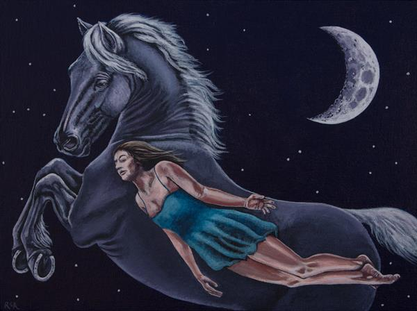 The Moon Horse by Ruth Archer