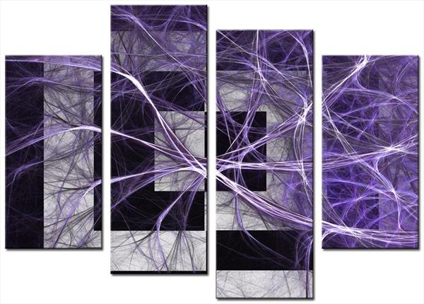 Darcy 4 Set, Purple by Mike Shenton