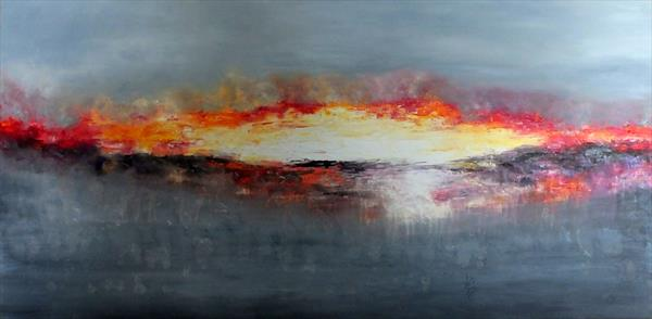 Glimpses Of The View Beyond (Panoramic) by Hester Coetzee