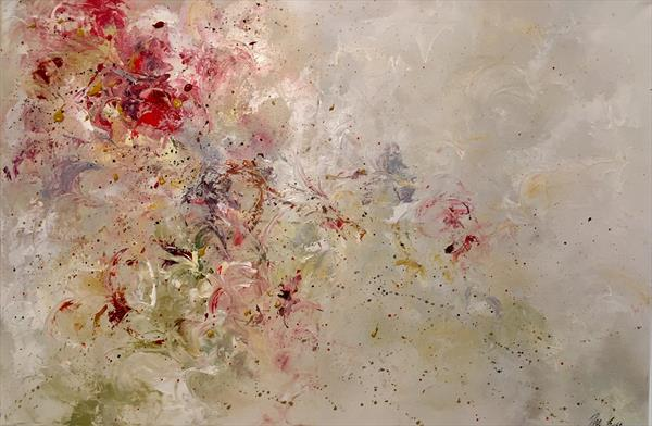 Summer garden abstract  by Pippa Buist