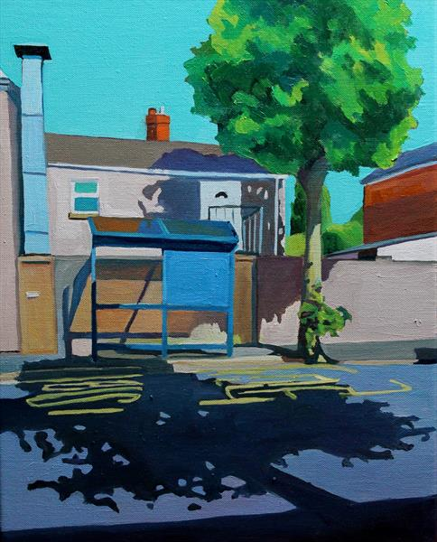 Brynmill Bus Stop by Emma Cownie