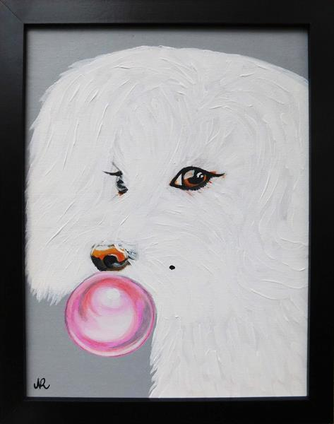 Woof?! Marilyn who? by Nadia Rivera
