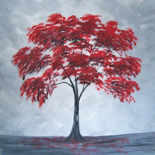 Autumn Tree by Patricia Richards