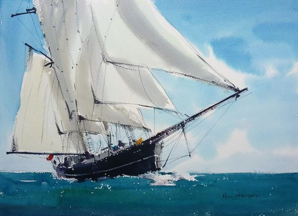 Full Sails by Ken  Hayes