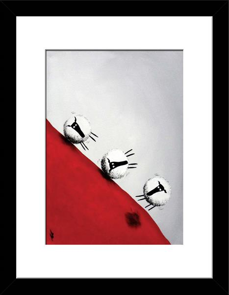 £59 Quickest Way Down (Ready Framed) Limited Edition Print