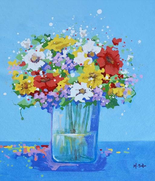 Fresh Flowers  by Marilene Salles