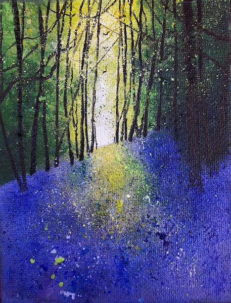 Bluebell Bank by Teresa Tanner