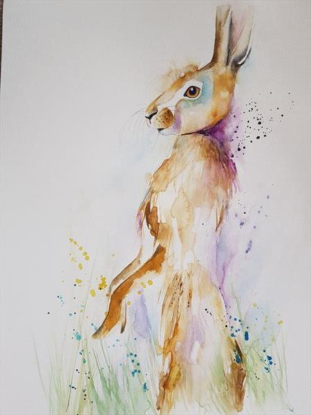 Hare  by Eleanor SMITH