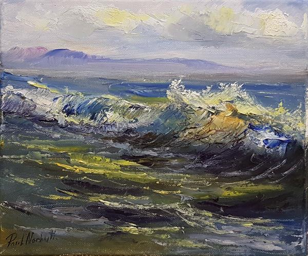 The Colors of the Ocean by Paul Narbutt