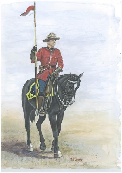 Musical ride RCMP by Phil Willetts
