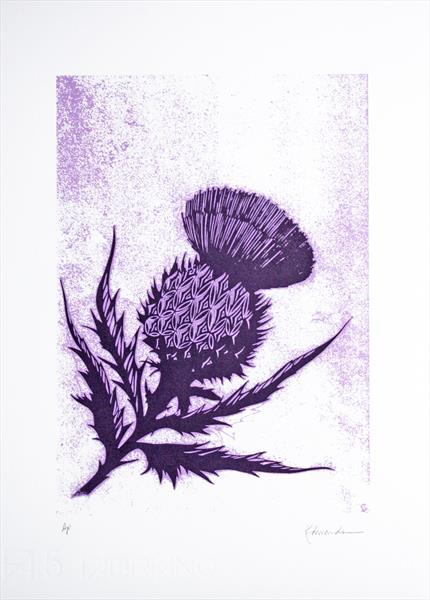 Thistle by Kathryn Edwards