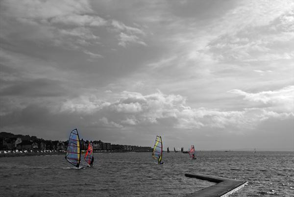 Wind Surfers by Rosie Gosden
