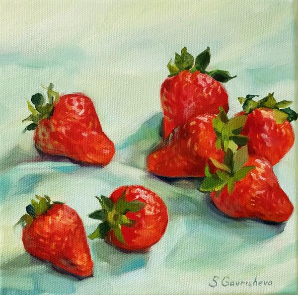 Strawberry season by Svetlana Gavrisheva