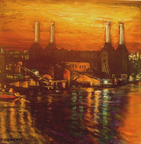 Battersea Power Station by Patricia Clements