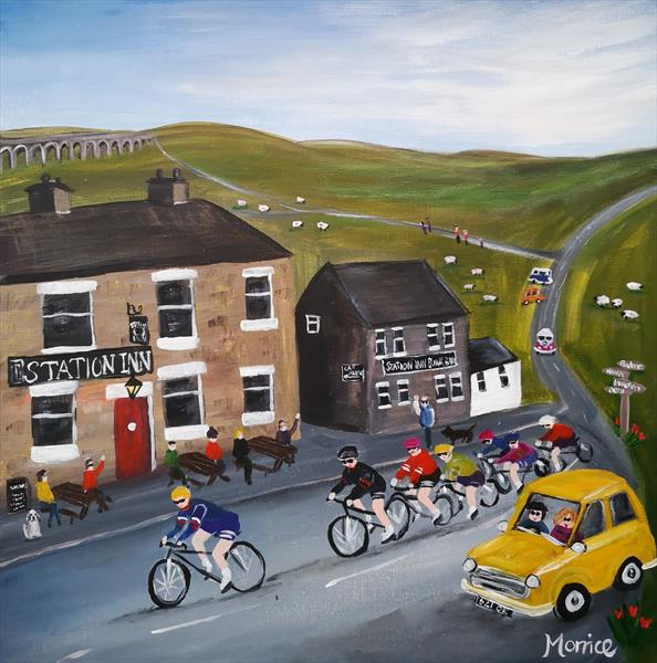 I'd rather be in the Yorkshire Dales  by cheryl Morrice